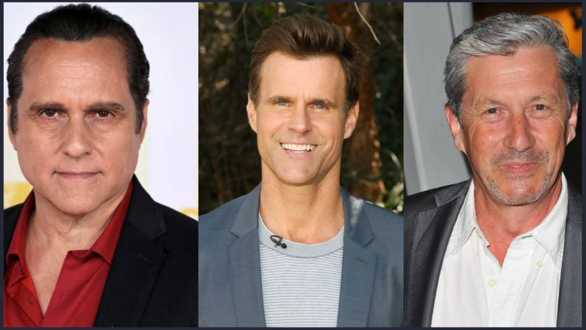 General Hospital odds and ends features Maurice Benard, Cameron Mathison, and Charles Shaughnessy, pictured here
