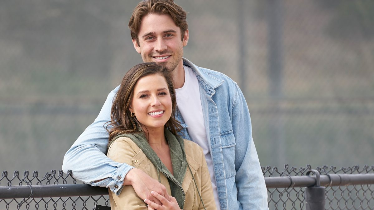Katie Thurston and Greg Grippo pose together on their Hometown date in 'The Bachelorette' Season 17 Week 9