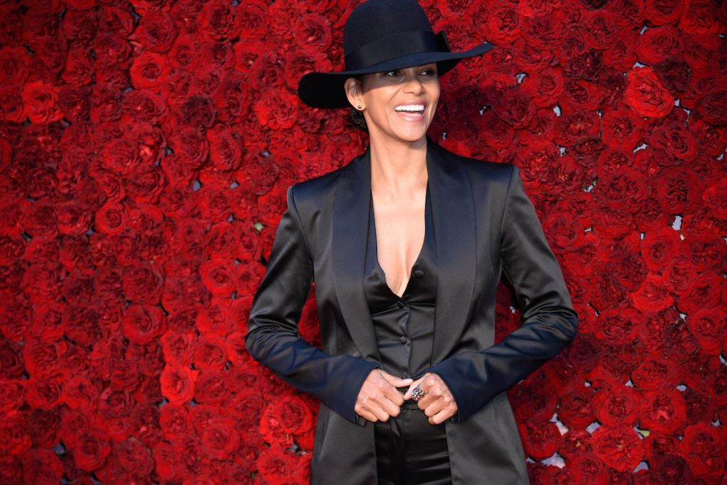 Halle Berry at Tyler Perry Studios' grand opening