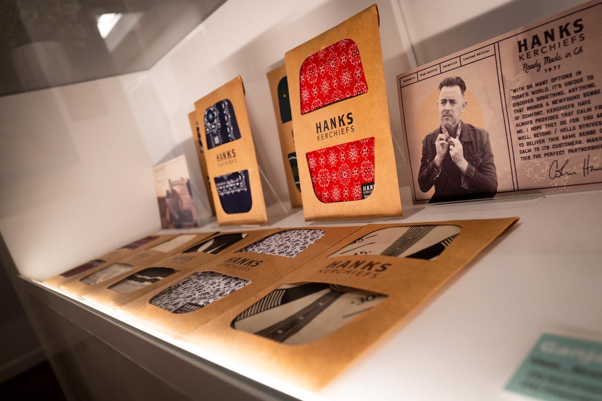 Hanks Kerchiefs retail display