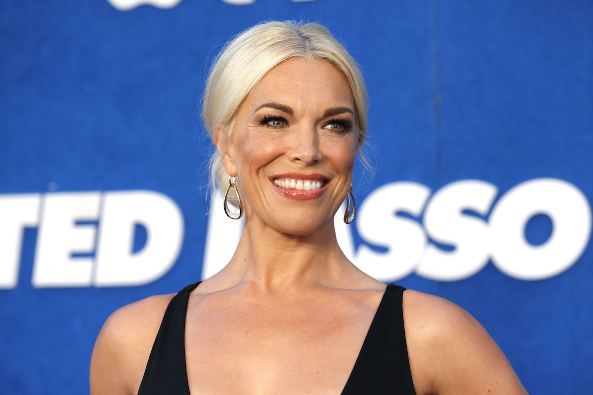 """Hannah Waddingham attends Apple's """"Ted Lasso"""" Season 2 Premiere at Pacific Design Center on July 15, 2021 in West Hollywood, California."""