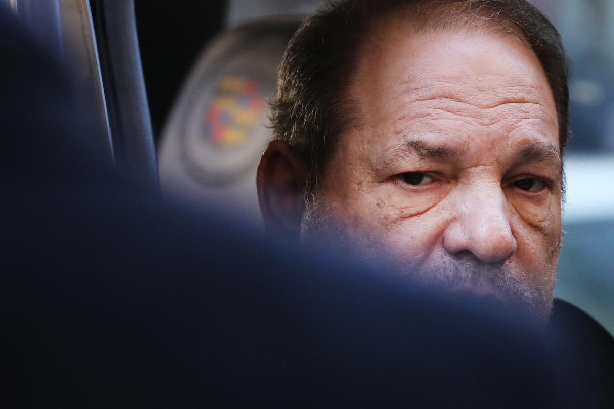 Harvey Weinstein obscured face