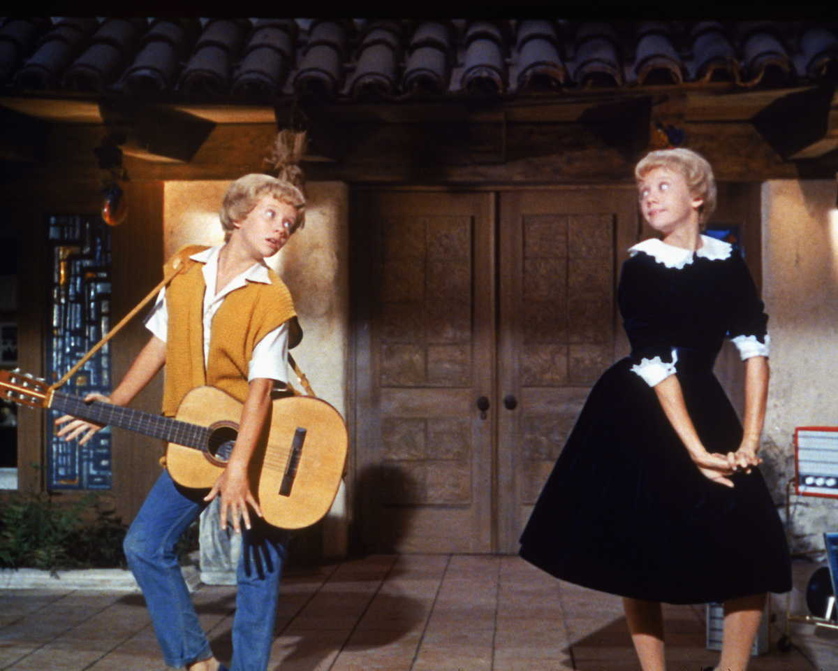Hayley Mills in a musical scene from 'The Parent Trap'