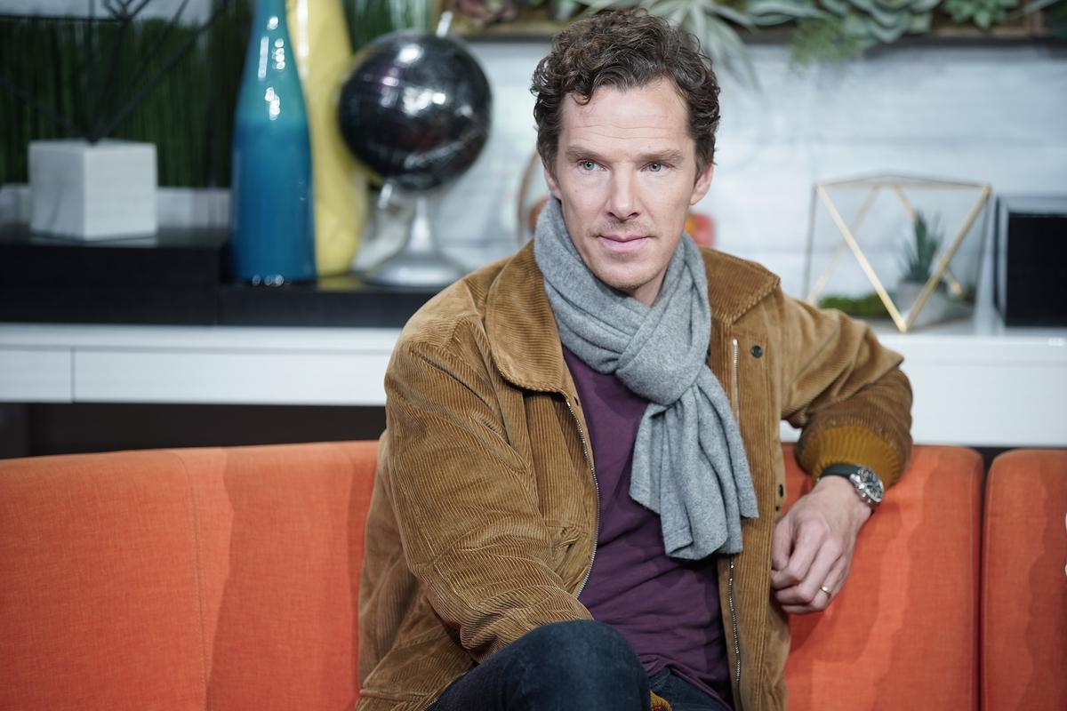 "Benedict Cumberbatch at BuzzFeed's ""AM To DM"""