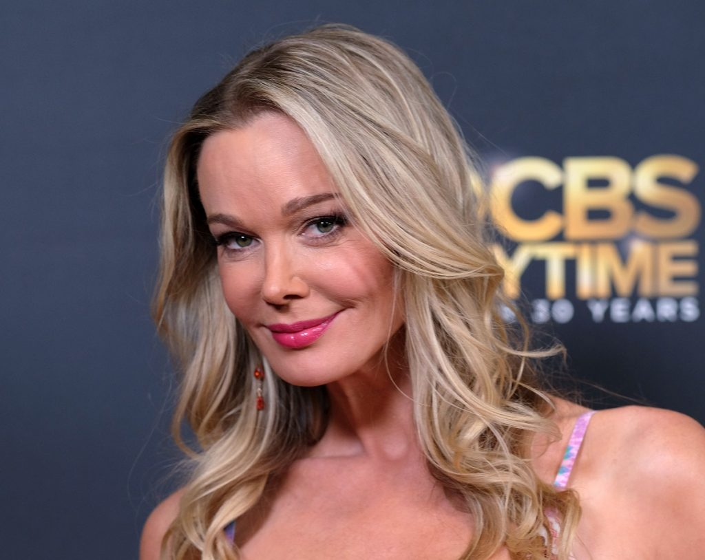 'The Bold and the Beautiful' actor Jennifer Gareis at the 2017 Daytime Emmy after party.