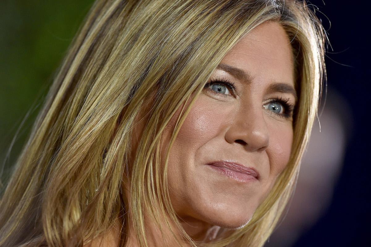 Jennifer Aniston close up of face