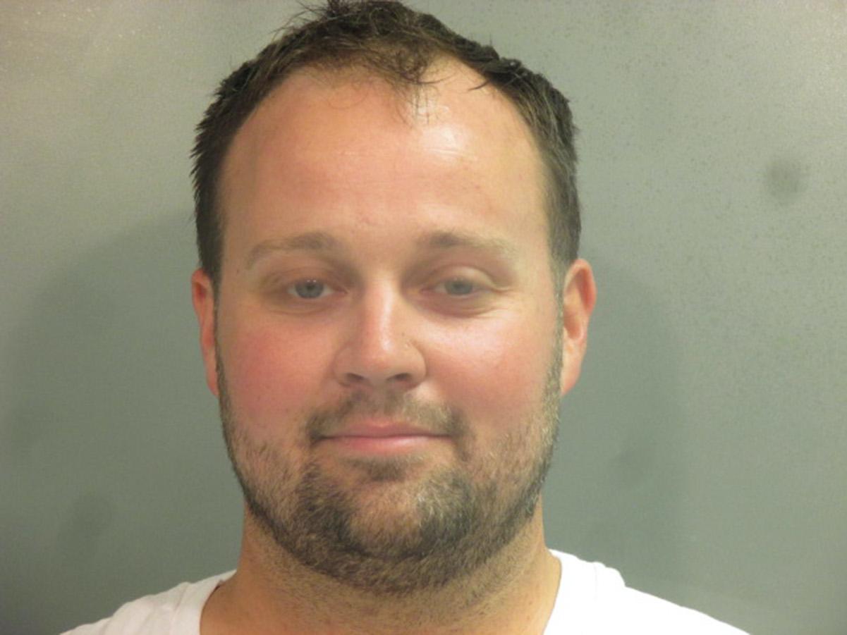 Josh Duggar news: Josh Duggar's mugshot when he was arrested in April 2021