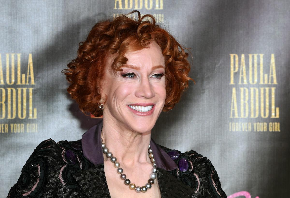 Comedian Kathy Griffin at Paula Abdul's Flamingo Las Vegas residency in 2019