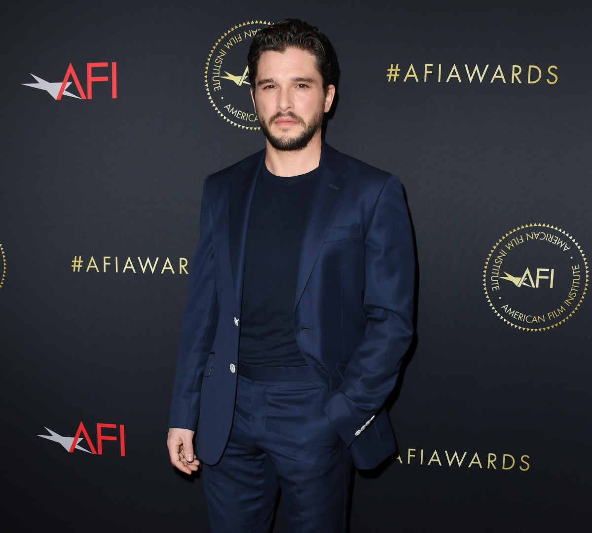 Kit Harington attends the 20th Annual AFI Awards at Four Seasons Hotel Los Angeles at Beverly Hills on January 03, 2020 in Los Angeles, California