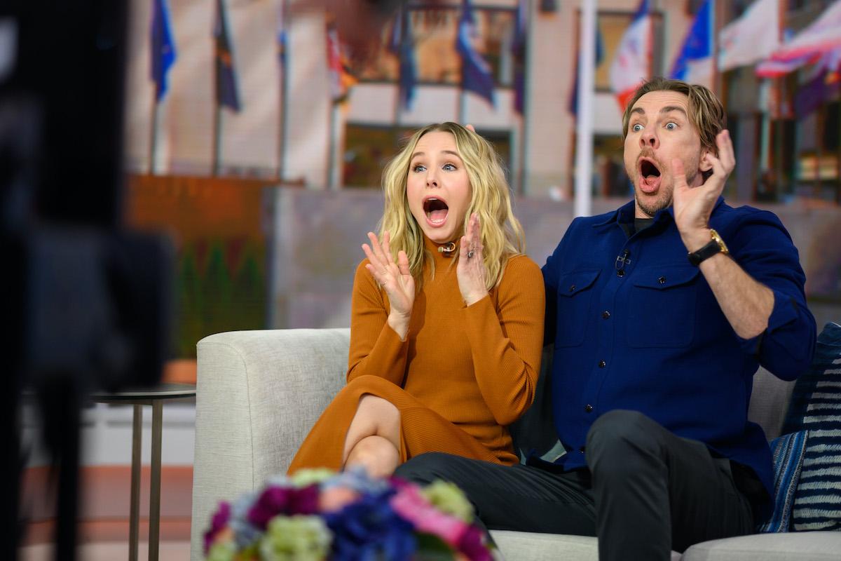 Kristen Bell and her husband Dax Shepard