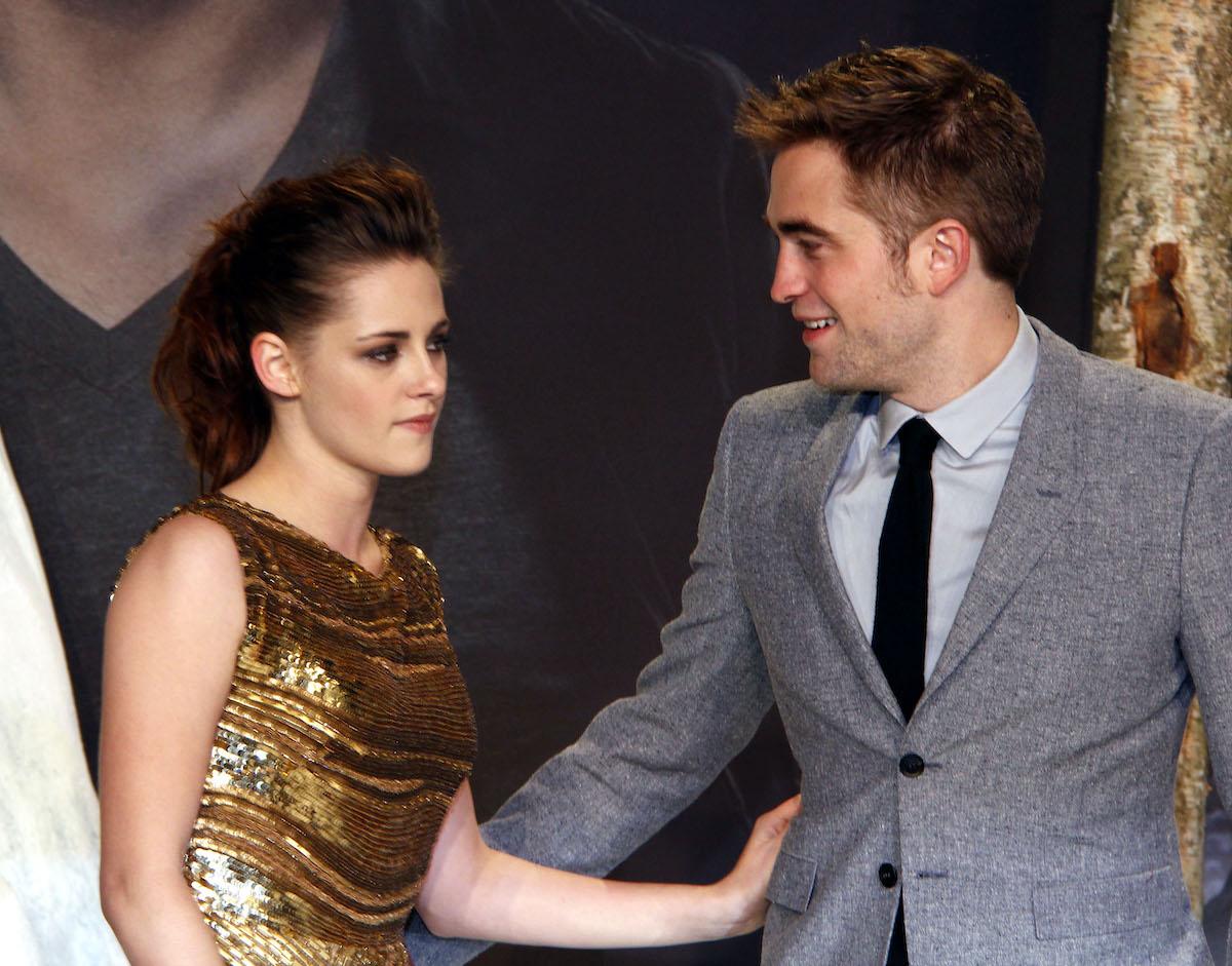 'Twilight' cast member Kristen Stewart and Robert Pattinson
