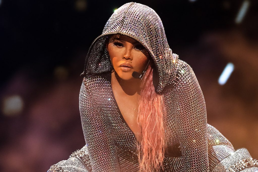 Lil Kim performs onstage at the BET Hip Hop Awards 2019