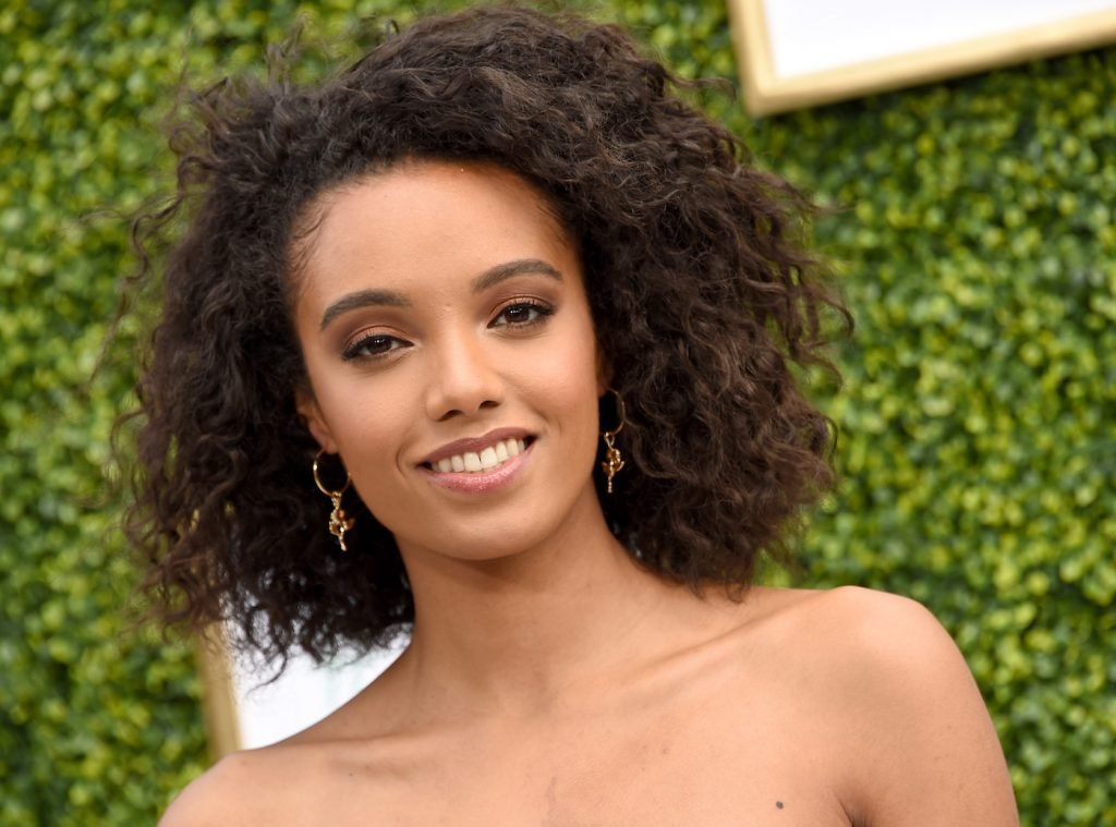 Maisie Richardson-Sellers arrives at The CW Network's Fall Launch Event at Warner Bros. Studios in October 2018 in Burbank, California