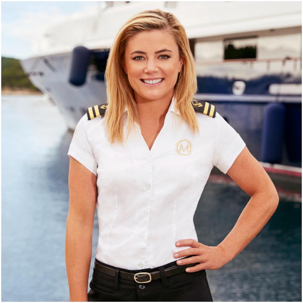 Malia White from Below Deck Mediterranean Season 6 crew photo