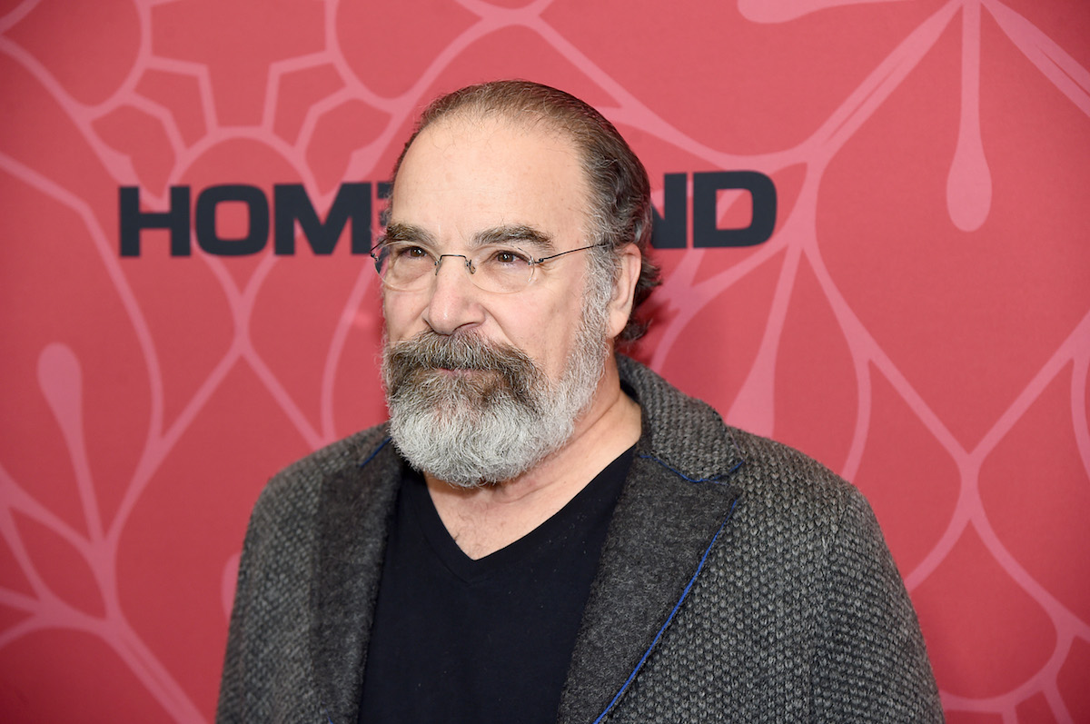 Mandy Patinkin head and shoulders