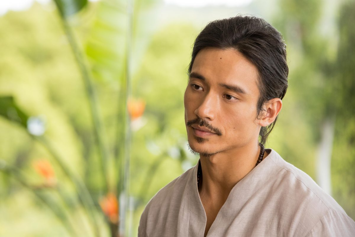 Manny Jacinto as Yao in 'Nine Perfect Strangers'