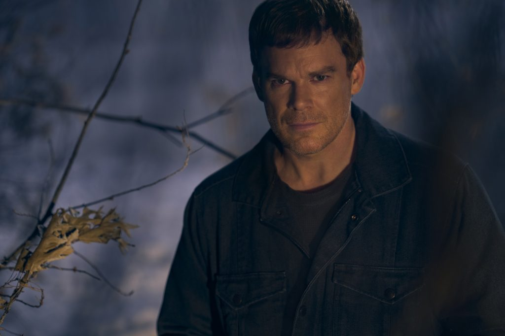Dexter: New Blood -- Michael C. Hall in the woods