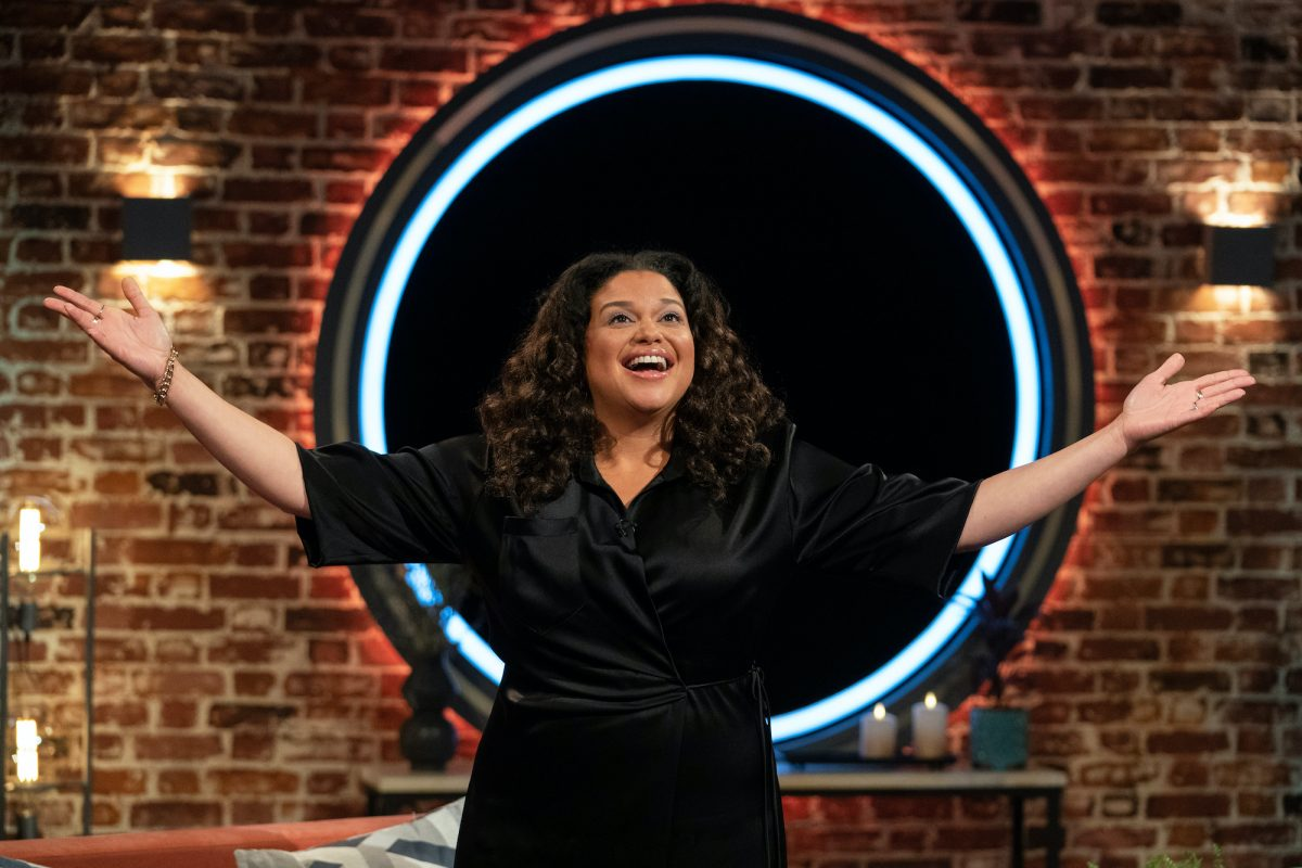 Michelle Buteau hosting the Netflix series 'The Circle'
