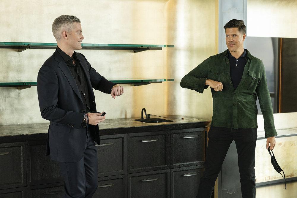 Ryan Serhant and Fredrik Eklund from Million Dollar Listing New York end season 9 on a spicy note