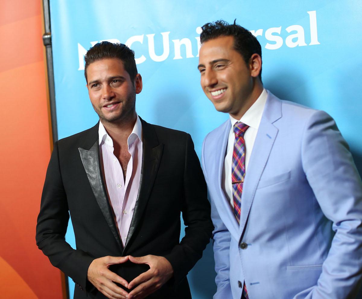 Josh Flagg and Josh Altman from Million Dollar Listing Los Angeles in 2014