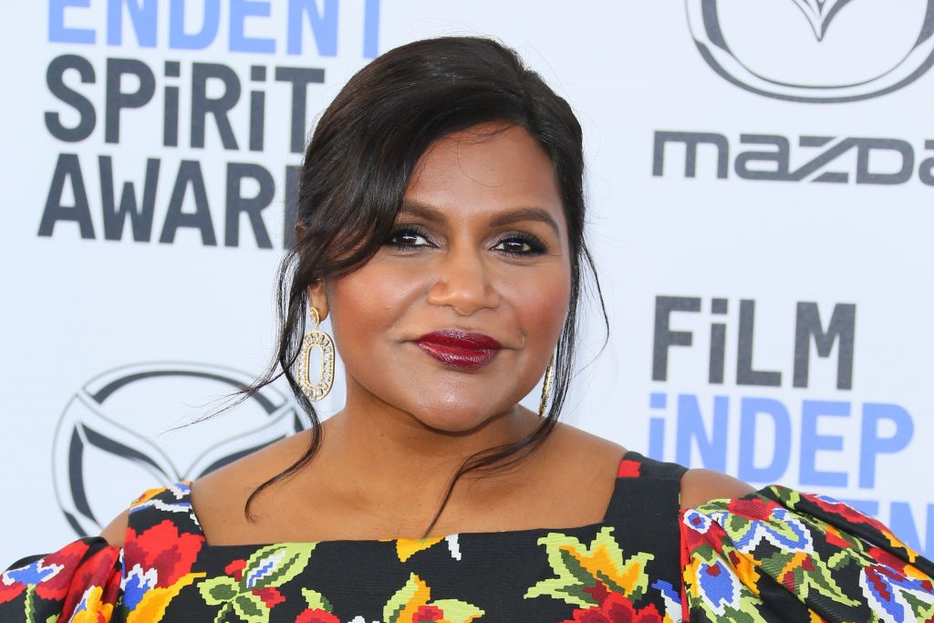 US actress Mindy Kaling arrives for the 35th Film Independent Spirit Awards in Santa Monica, California, on February 8, 2020.
