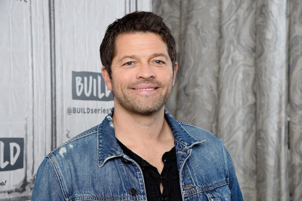 """Misha Collins visits the Build Series to discuss the book """"The Adventurous Eaters Club"""" and the final season of the CW series """"Supernatural"""" at Build Studio on November 04, 2019 in New York City."""
