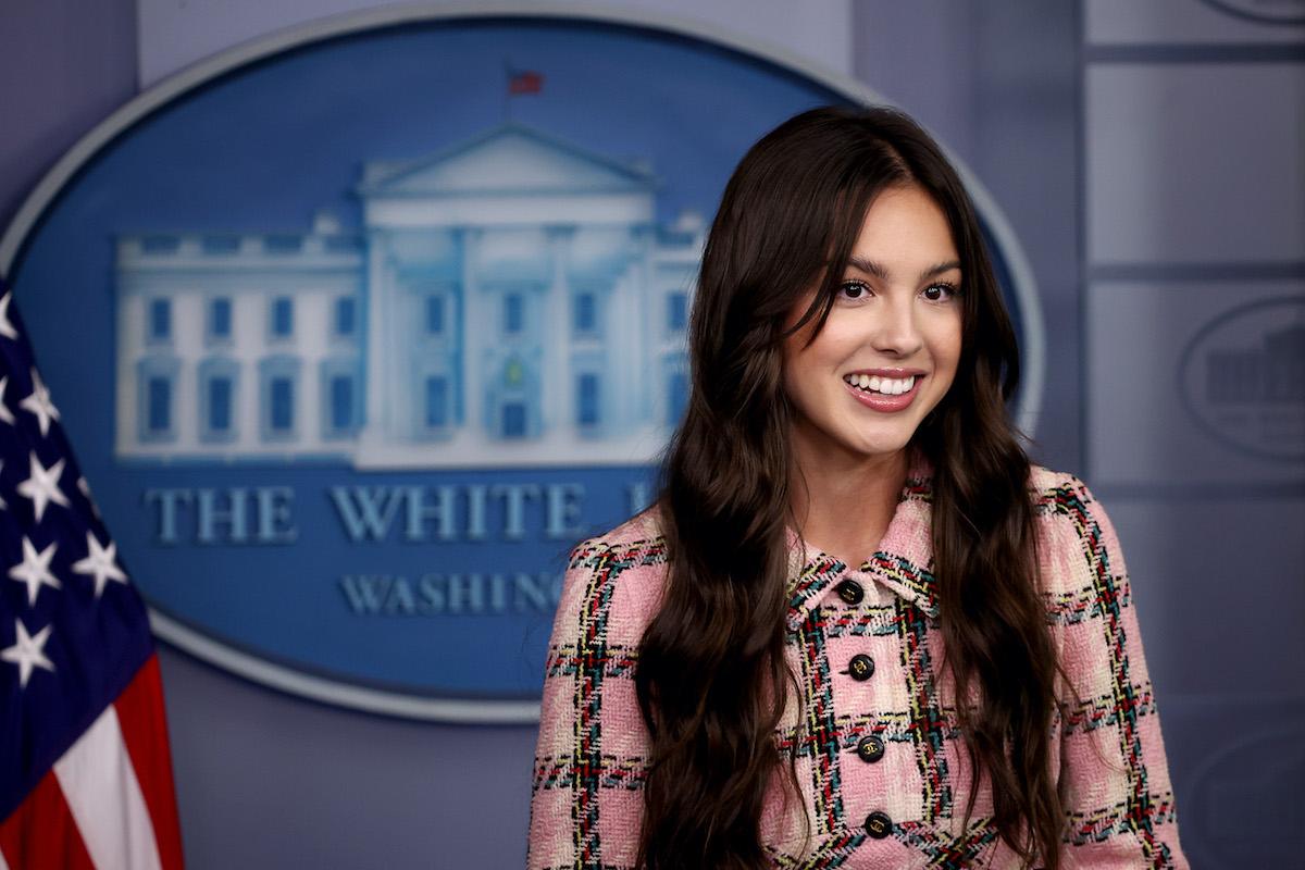 High School Musical: The Musical: The Series star Olivia Rodrigo at The White House