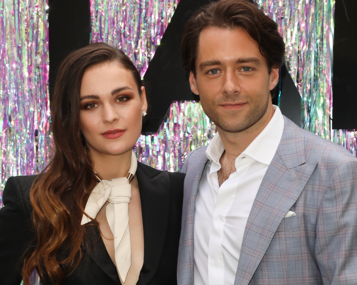 'Outlander' stars Sophie Skelton and Richard Rankin attend the Starz FYC Day at The Atrium at Westfield Century City on June 02, 2019, in Los Angeles, California