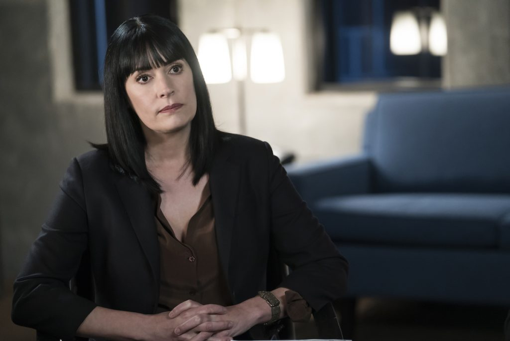 Paget Brewster as Emily Prentiss in 'Criminal Minds'