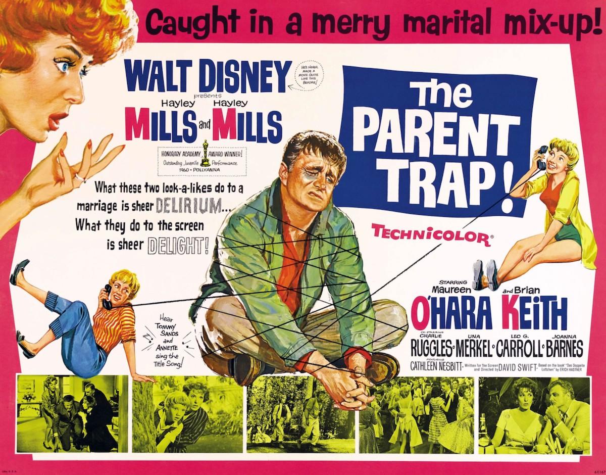 The Parent Trap 1961 original poster