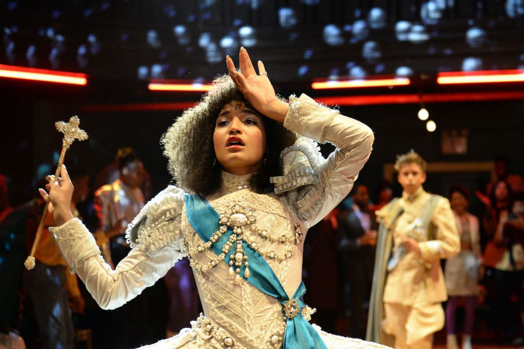 Indya Moore dressed up as Angel in the FX series 'Pose'
