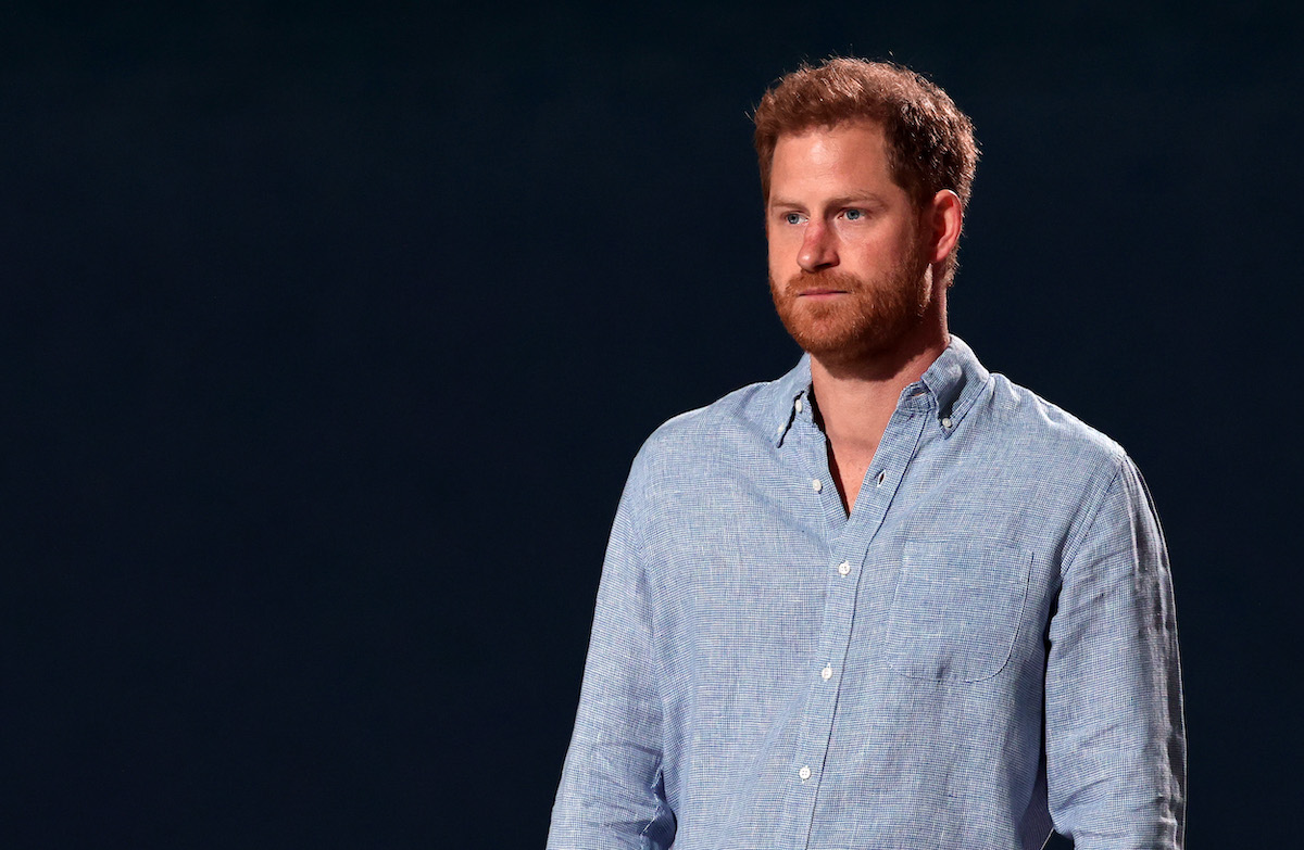 Prince Harry attends Global Citizen Vax Live