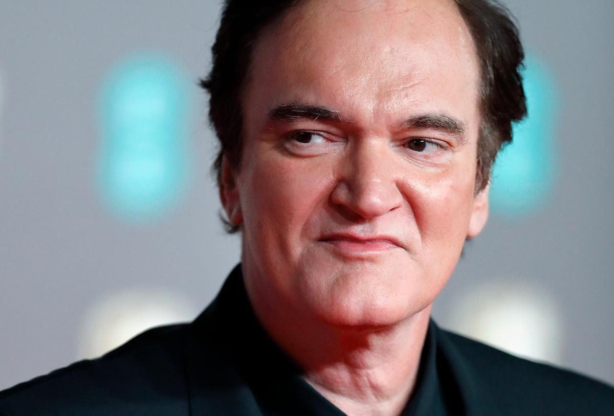 Quentin Tarantino close up