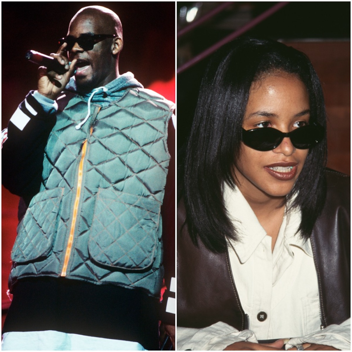 R. Kelly and Aalyah