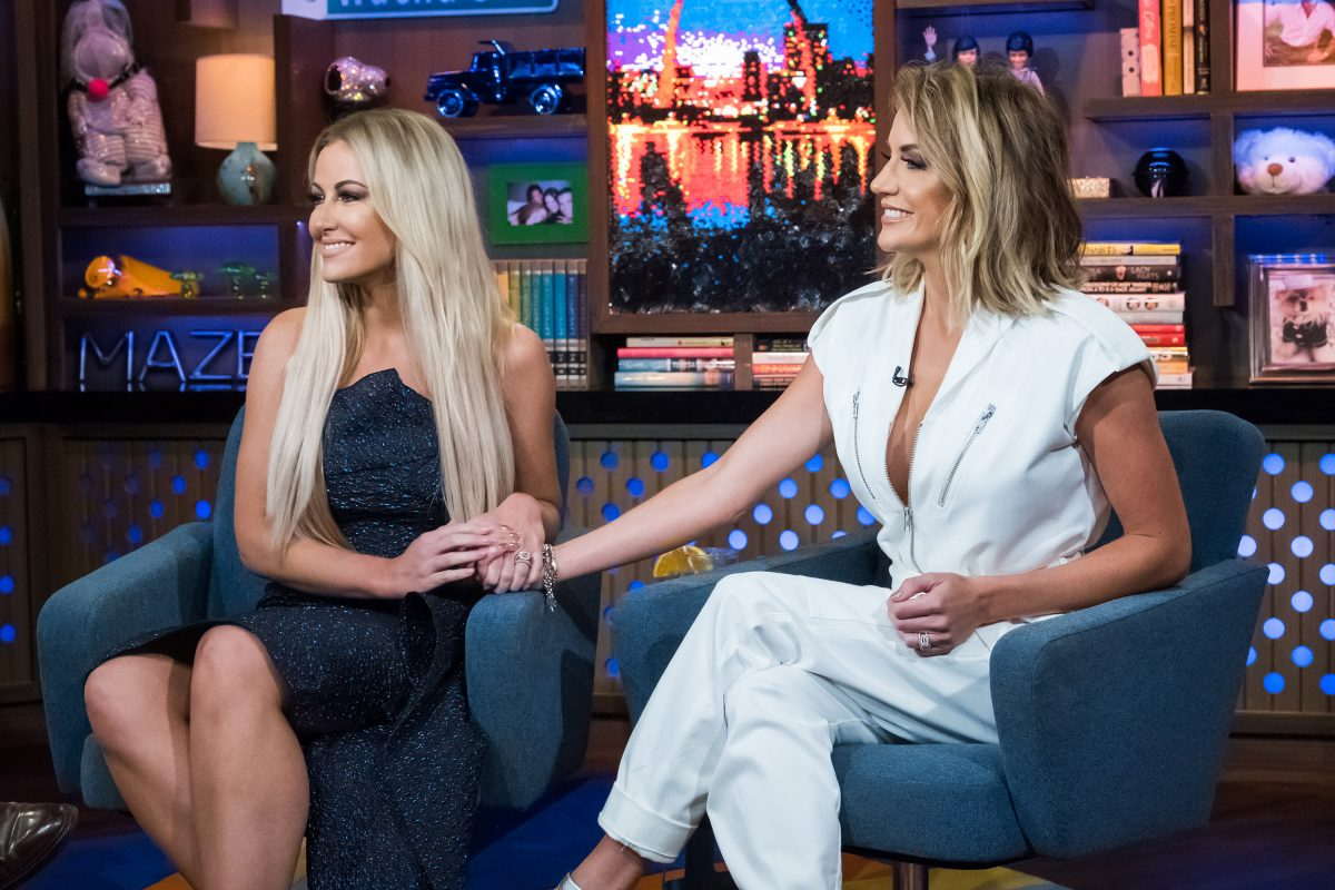 'The Real Housewives of Dallas' stars Stephanie Hollman and Cary Deuber on 'Watch What Happens Live with Andy Cohen' season 15