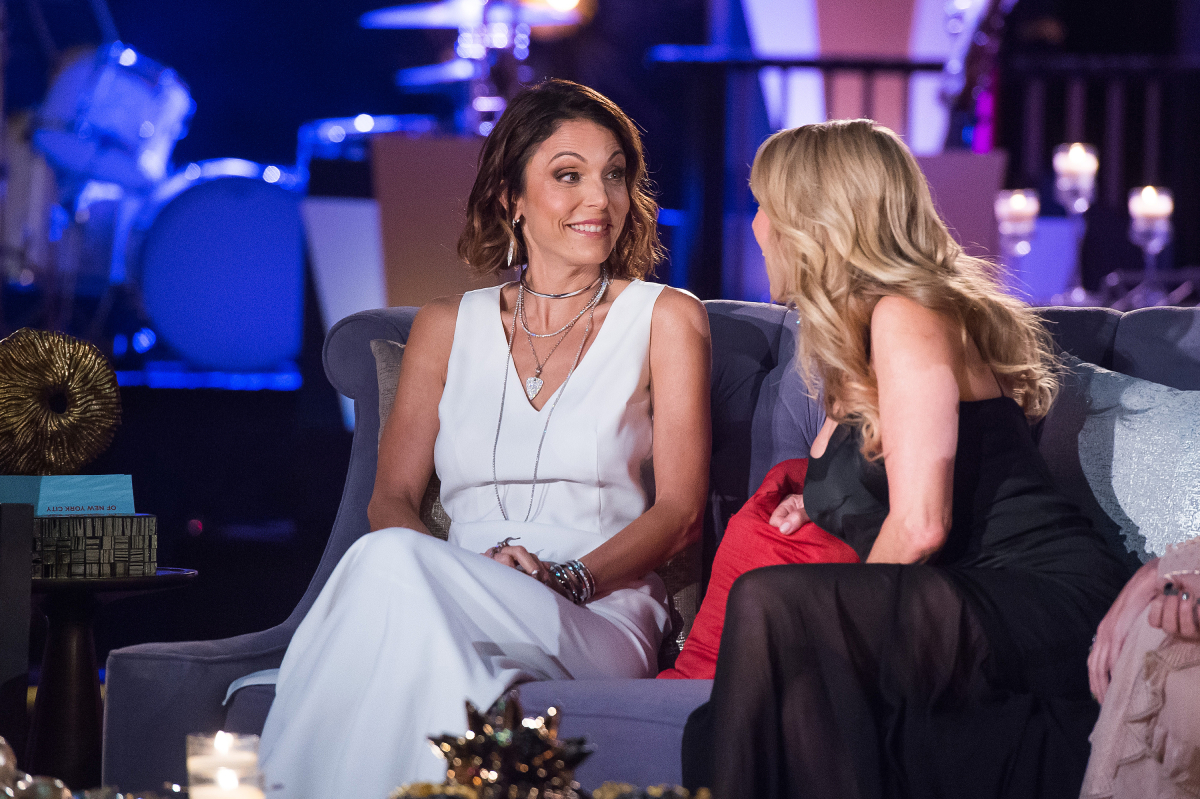 Former 'Real Housewives of New York' stars Bethenny Frankel and Ramona Singer on July 13, 2016