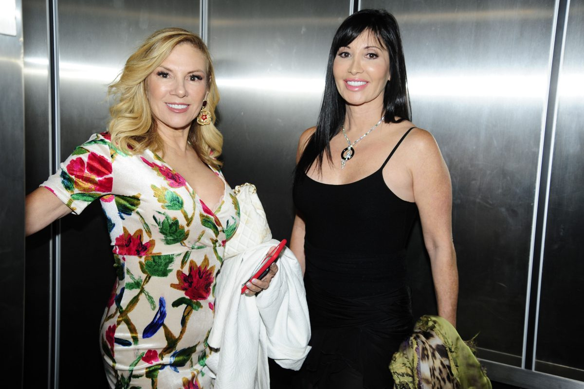 'RHONY' cast members Elyse Slaine and Ramona Singer smiling at an event.