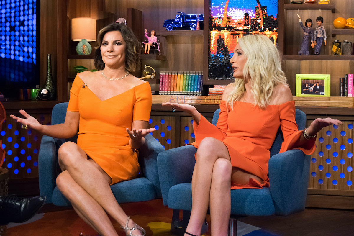 Luann de Lesseps from The Real Housewives of New York City and Kate Chastain from Below Deck are guests on WWHL