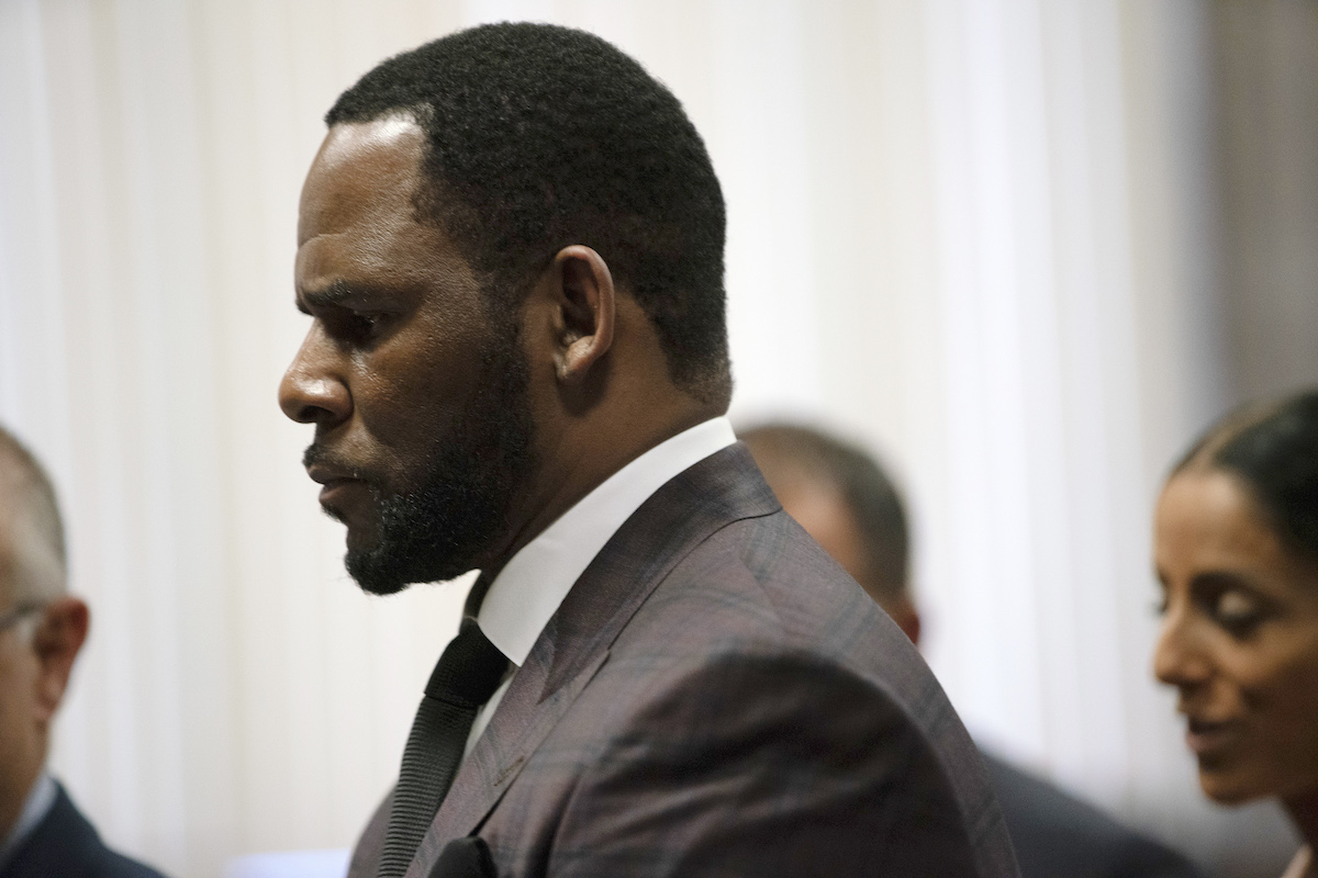 R. Kelly profile in suit