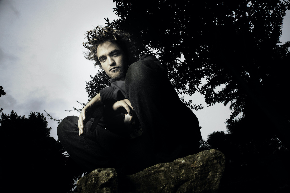 Twilight star Robert Pattinson poses in character as Edward Cullen