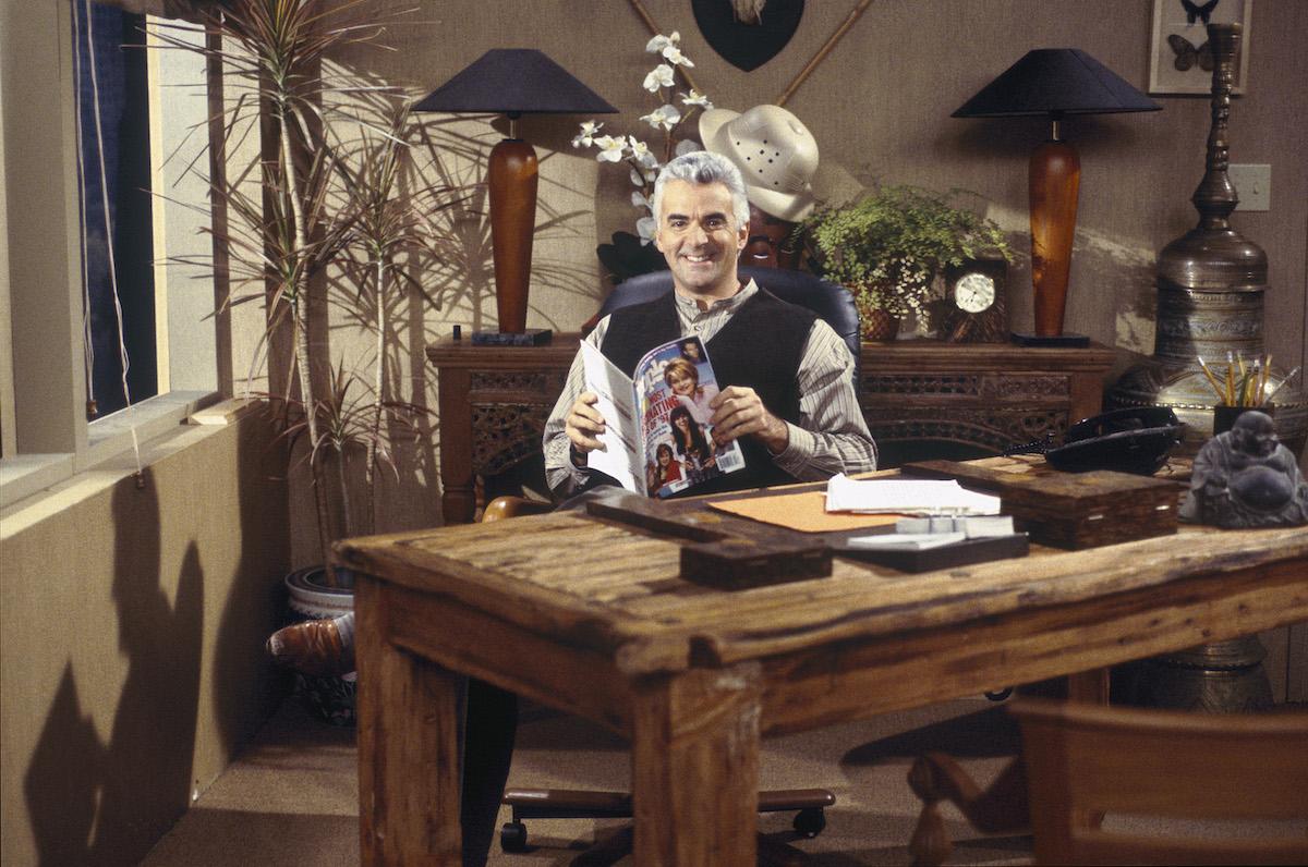 Seinfeld's John O'Hurley as J. Peterman