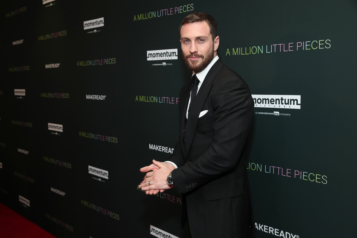 Aaron Taylor-Johnson at special 'A Million Little Pieces' screen