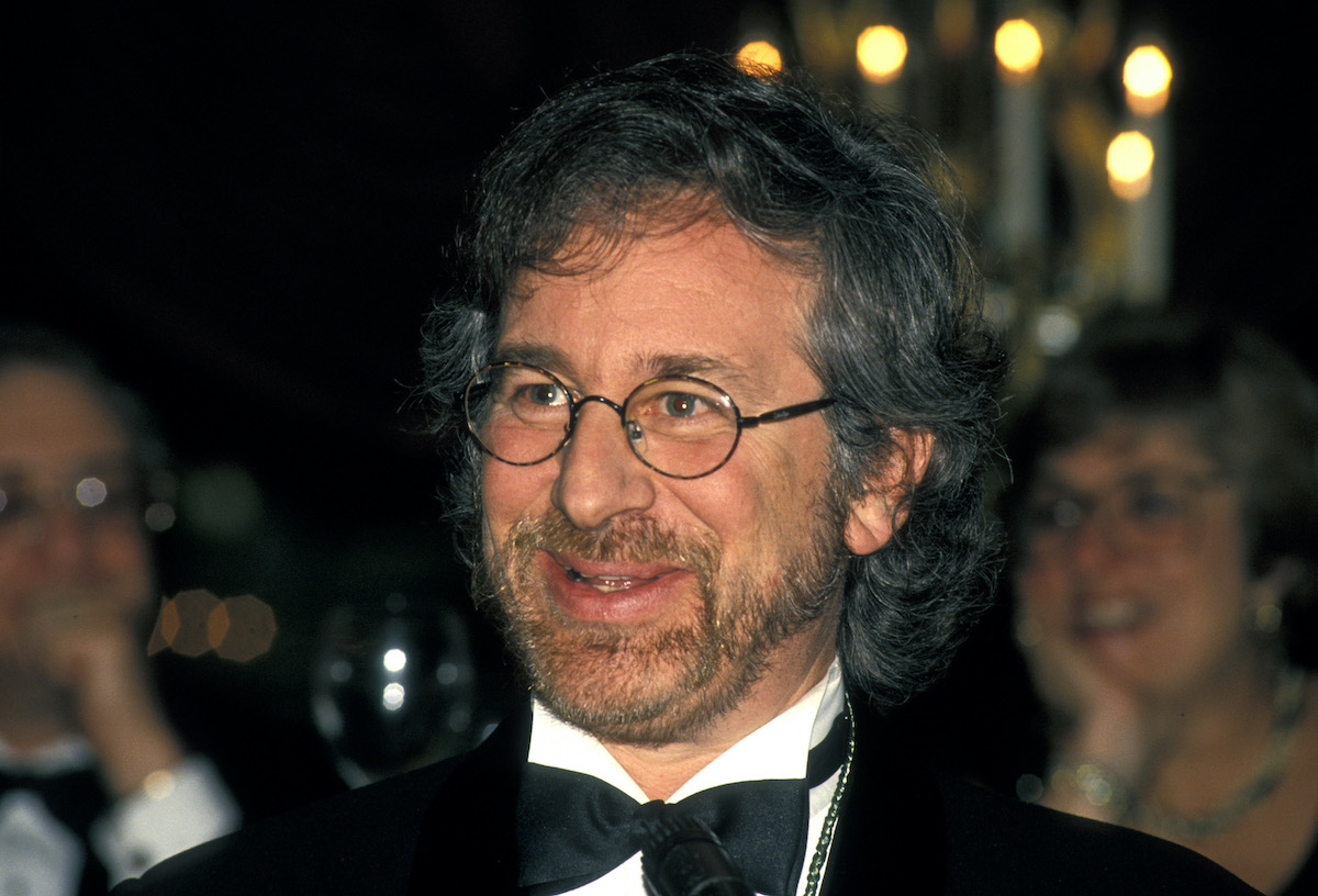 Steven Spielberg wears a suit   Ron Galella/Ron Galella Collection via Getty Images