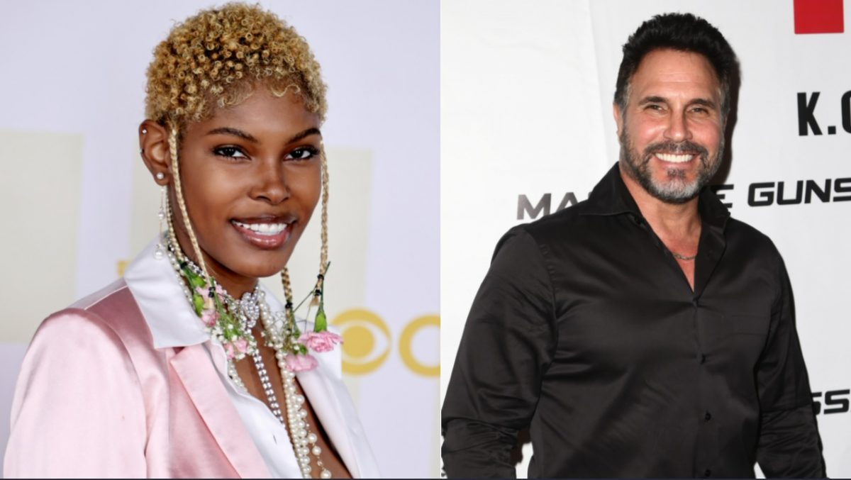 The Bold and the Beautiful news roundup focuses on Diamond White, left, and Don Diamont, right, both pictured here