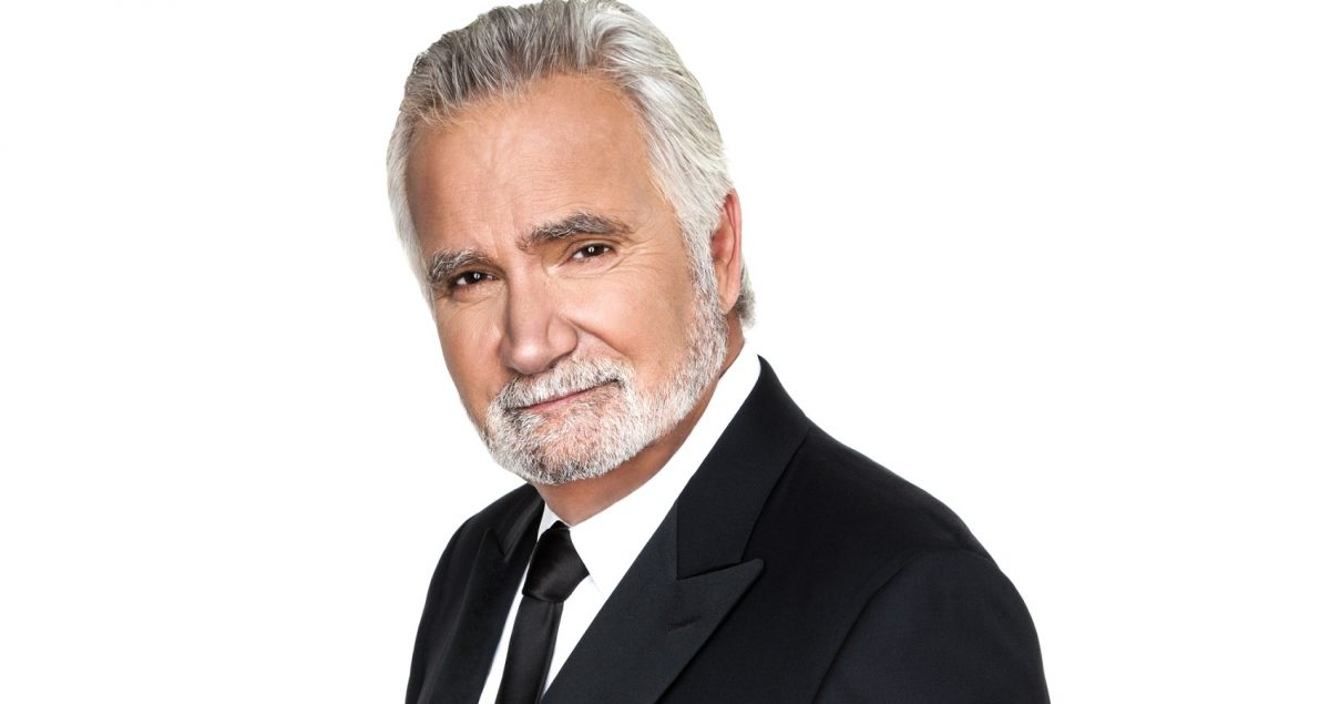 The Bold and the Beautiful stars John McCook as Eric Forrester, pictured here in a publicity shot in a tuxedo against a white background