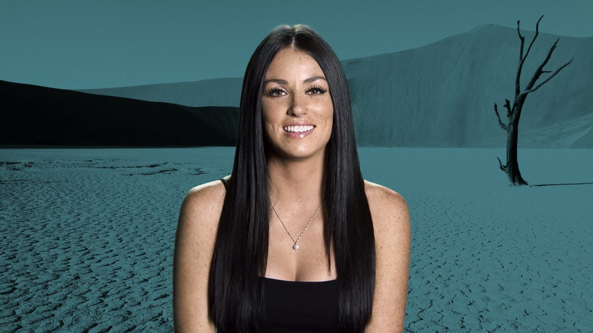 Amanda Garcia poses for 'The Challenge: War of the Worlds' cast photo