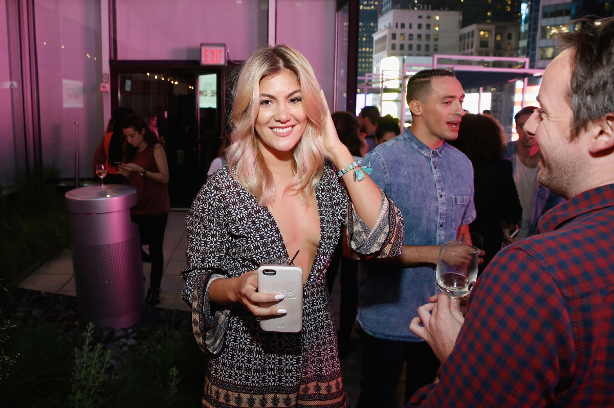 'The Challenge' star Tori Deal attends 'Are You The One?' New York Premiere at 1515 Broadway on June 2, 2016 in New York City