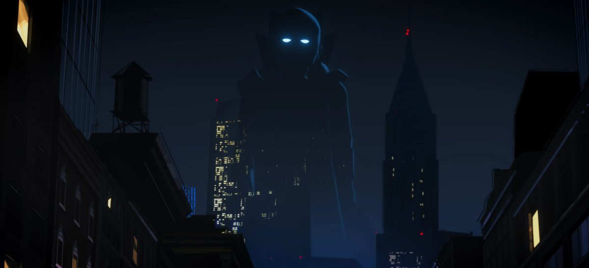 The Watcher watches over the city