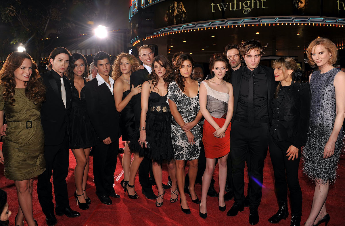 Twilight cast and crew attend the premiere