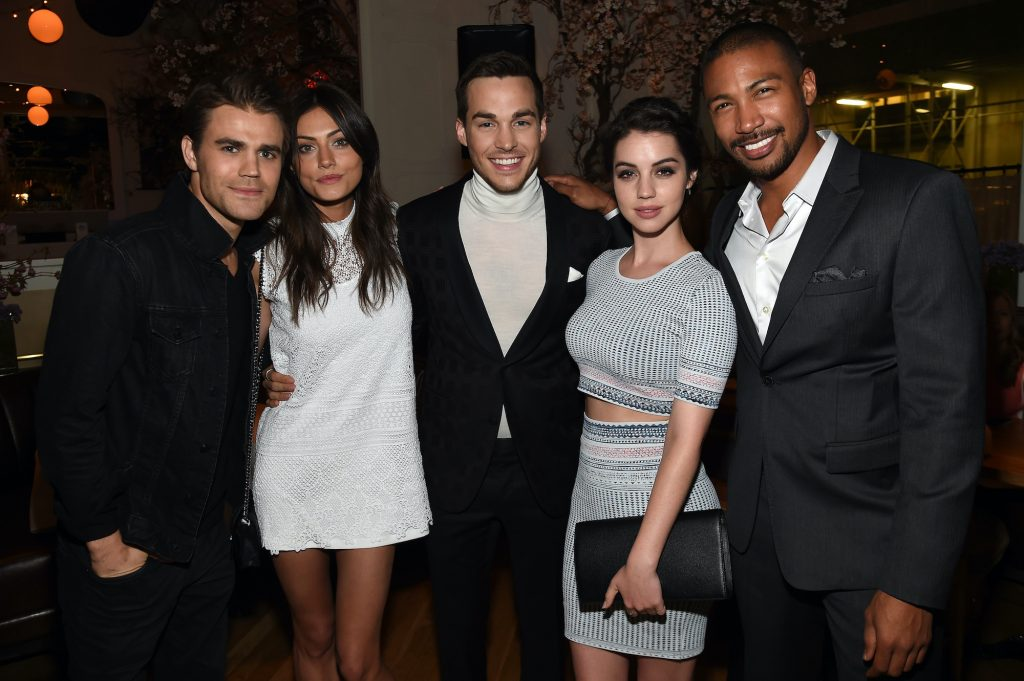 Cast members of 'The Vampire Diaries' and 'The Originals' smiling